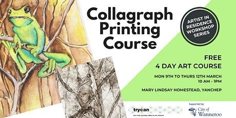 Collagraph Printing Course tickets