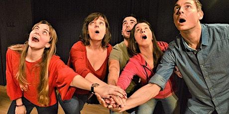 Prueba una clase de Teatro para Principiantes en Madrid entradas