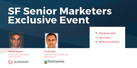 Senior Marketers Exclusive Lunch with Outgrow.co & Freshworks tickets