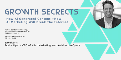 Growth Secrets: Ai Generated Content + Ai Marketing - Breaking the Internet tickets