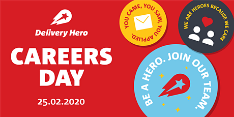 Delivery Hero Careers Day: Be a Hero, join our Team! tickets