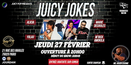 Juicy Jokes#4 ~27.02~ @JuicyPopRestaurant