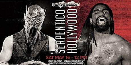 IGNITE Wrestling Presents Mayhem Returns tickets