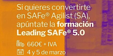 Formación Leading SAFe entradas