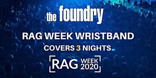 RAG WEEK WRISTBAND - TUES/WED/THUR