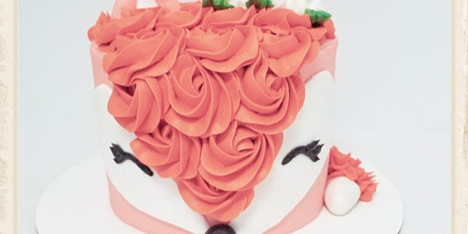 Charming Fox Cake Decorating