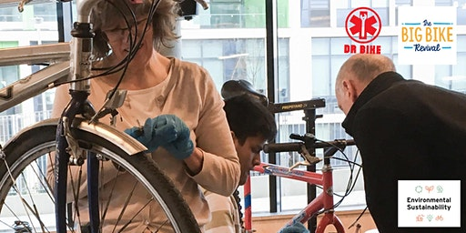 Puncture Repair with Dr.Bike! Open to students and staff at ENU.