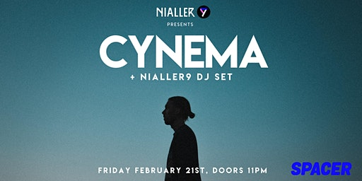 Cynema (live) + Nialler9 DJ set