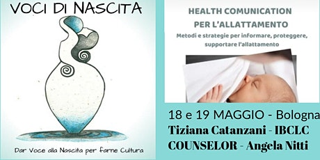 HEALTH COMMUNICATION - NEL SOSTEGNO ALL'ALLATTAMENTO biglietti