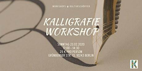 Kalligrafie Workshop Tickets
