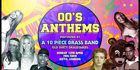 00's Anthems - Performed by a 10 Piece Brass Band tickets