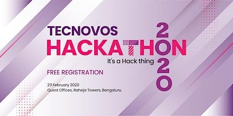 Tecnovos Hackathon 2020 tickets