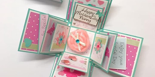 Floral Box Card Workshop for Mother's Day