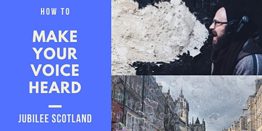 Workshop: How to make your voice heard