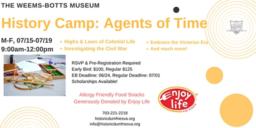 History Camp: Agents of Time