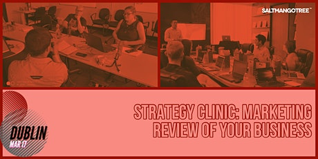 Strategy Clinic Dublin: Marketing review of your Business | 1-1 Meeting tickets