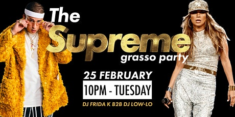 The Supreme Grasso Party - The Yellow Bar biglietti