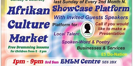 Auntie Jean's African Culture Market tickets