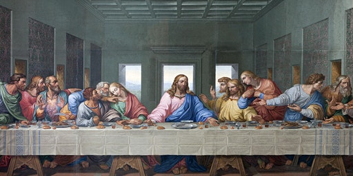 A Living Dramatization of The Last Supper