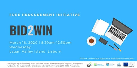 Bid2Win Procurement Programme- Introduction to Tendering tickets