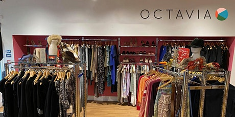 Octavia charity shop spring launch - many vintage bargains on offer! tickets