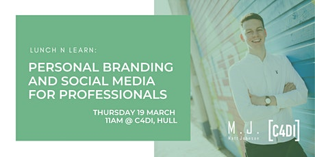LunchNLearn: Personal Branding and Social Media For Professionals tickets