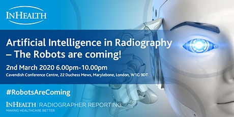 Artificial Intelligence in Radiography - The Robots are coming! tickets