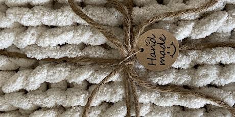 Chunky knit beginner class tickets