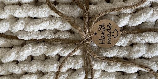 Chunky knit beginner class