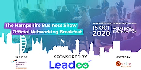 Hampshire Business Show: Networking Breakfast tickets