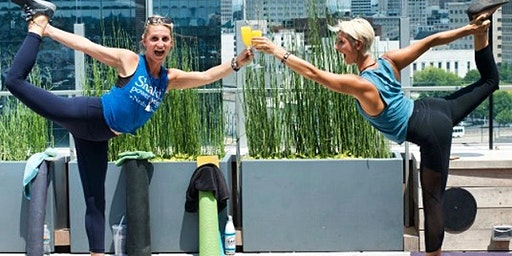 Rooftop Yoga + Bottomless Mimosas