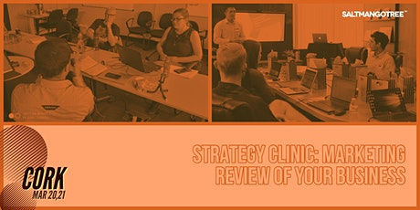 Strategy Clinic Cork: Marketing review of your Business | 1-1 Meeting tickets