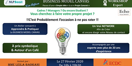 Business Model Canvas - Concevoir , Tester et Construire billets