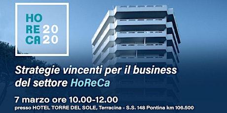 HORECA 2020 - Strategie vincenti per il business del settore HoReCa biglietti