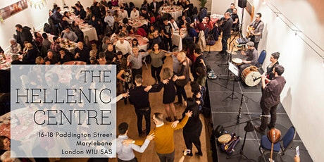 HC Kathara Deftera Celebration with Kourelou and London Greek Collective tickets
