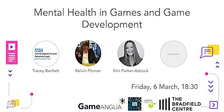 Mental Health in Games & Game Development tickets