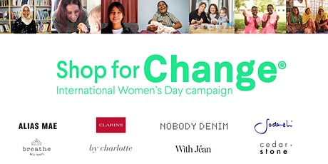 Shop for Change - International Women's Day 2020  Melbourne tickets