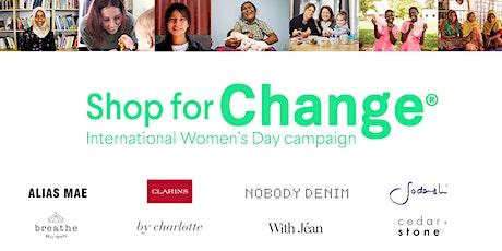 Shop for Change - International Women's Day 2020  Sydney tickets