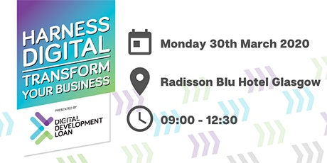 Harness Digital. Transform Your Business. tickets