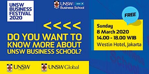 UNSW Business Festival Jakarta 2020