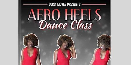 AfroHeels Dance Class tickets
