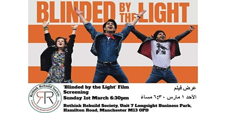 Film Screening: Blinded by the Light tickets