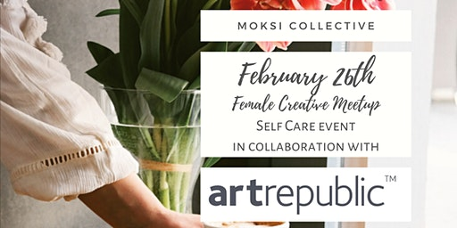 Female Creative Meetup - Self Care event