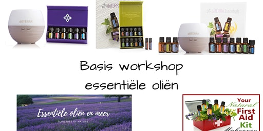 Basis Workshop Essentiële Oliën Incl. Gratis Sample Op Maat