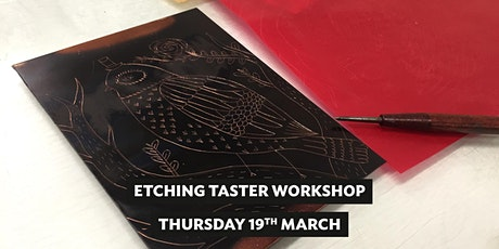 Etching Taster Workshop tickets
