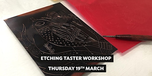 Etching Taster Workshop