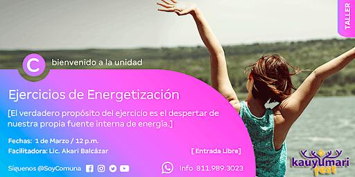 Ejercicios de Energetización Siéntete con energía todos los días