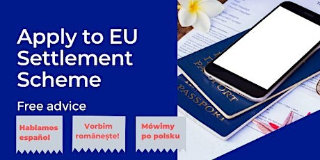 EU citizens: Apply to EU Settlement Scheme tickets