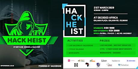 Hack heist tickets