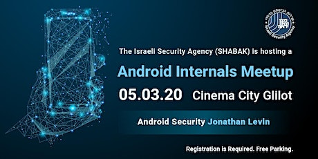 Android Internals Meetup tickets